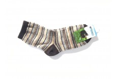 Ponožky z jačí vlny proužkované