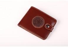 Pánská peněženka z hovězí kůže hnědá