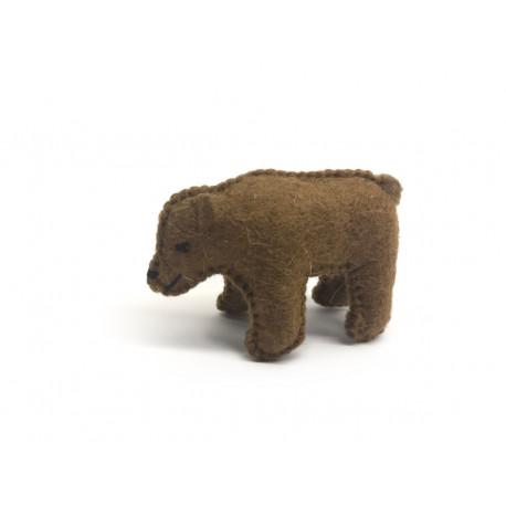 Gobijský medvídek madzaalaj tmavě hnědý