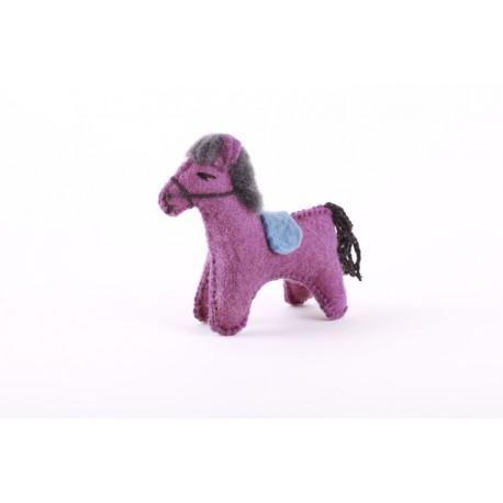 Koník fialový