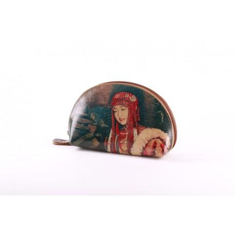 Kosmetická taštička Mongolská dívka