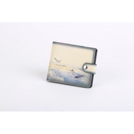 Menší peněženka s tištěným motivem