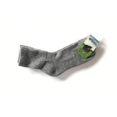 Ponožky z jačí vlny šedé