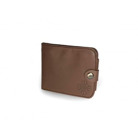 Pánská kožená peněženka s raženým ornamentem Dordže