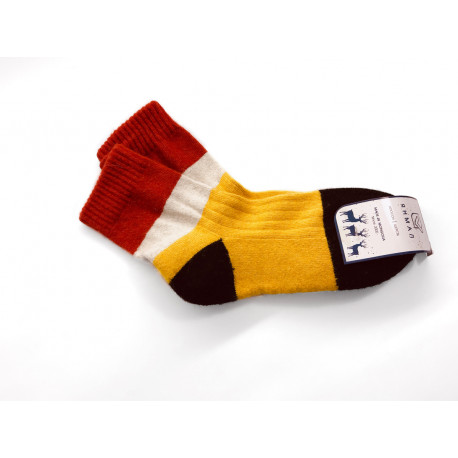 Ponožky z jačí vlny barevné vel. 38-40